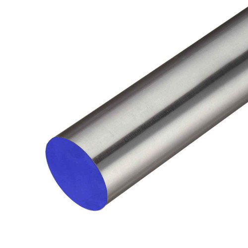 0.669 (17mm) x 36 inches, 304 TGP Stainless Steel Round Rod