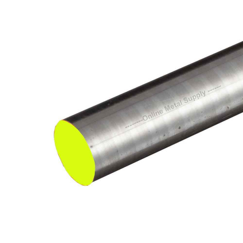 5.000 (5 inch) x 4 inches, 316 RT Stainless Steel Round Rod