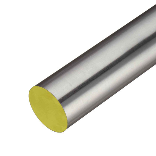 0.669 (17mm) x 48 inches, 316 TGP Stainless Steel Round Rod