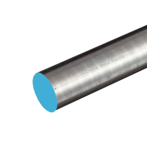 5.000 (5 inch) x 3 inches, 304 RT Stainless Steel Round Rod