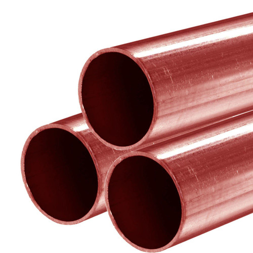 Copper Tube, 0.875 (3/4 NPS) x 72 inches, Type M (3 Pack)