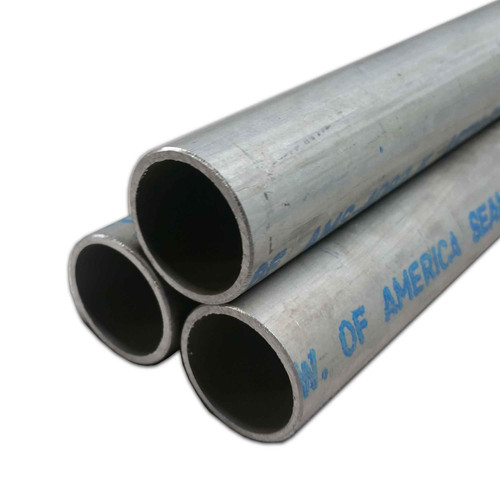 """2024-T3 Aluminum Round Tube, 1"""" OD x 0.028"""" Wall x 72"""" long, Seamless (3 Pack)"""
