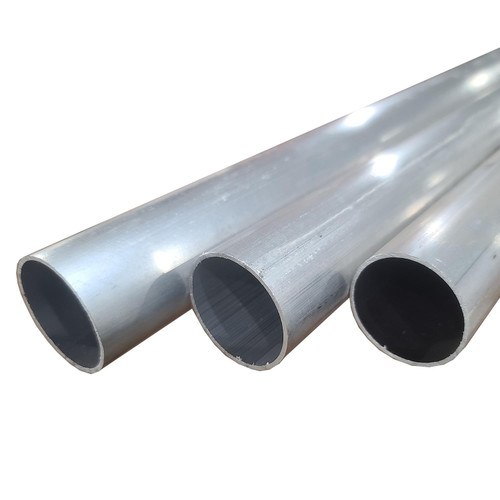 """6061-T6 Aluminum Round Tube, 1.625"""" OD x 0.065"""" Wall x 72"""" long, Seamless (3 Pack)"""