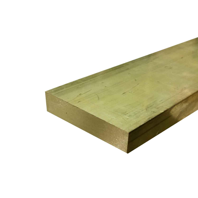 Brass Rectangle Flat Bar