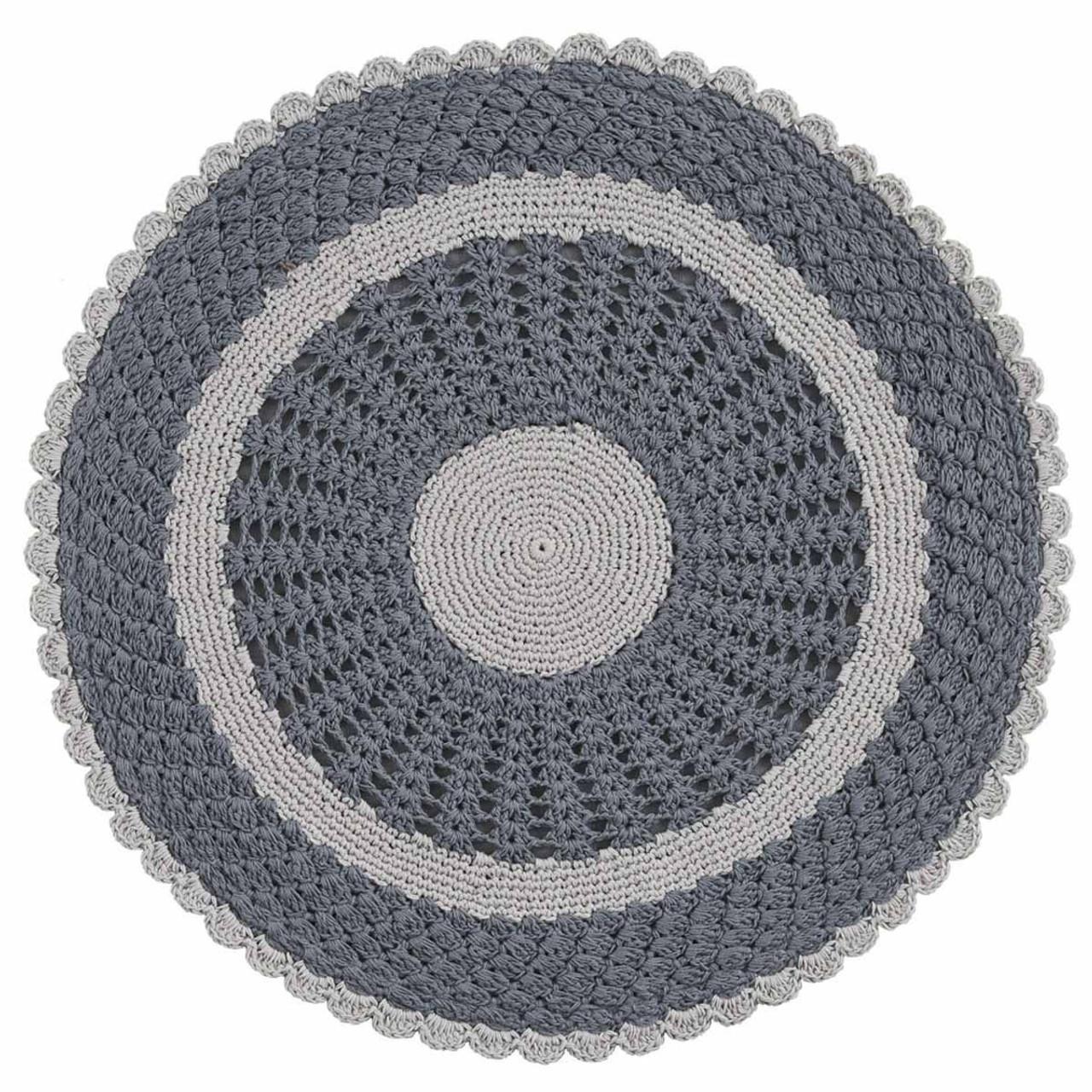 Flora Crochet (Gray)