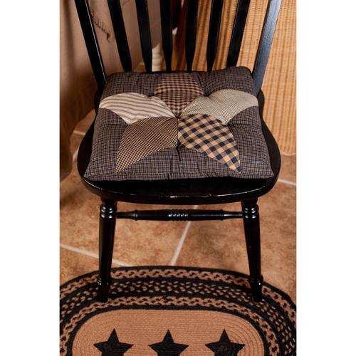 Farmhouse Star Chair Pad 15x15