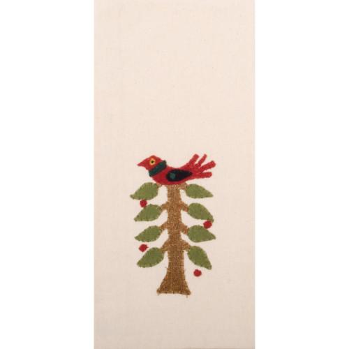 Nesting Tree Cream Towel