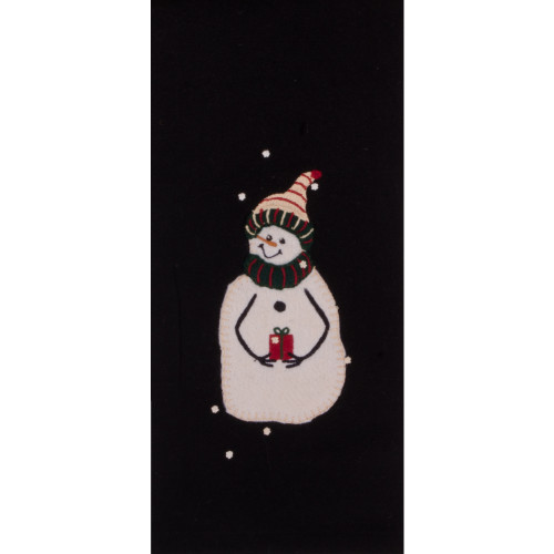 A Gift Black Towel