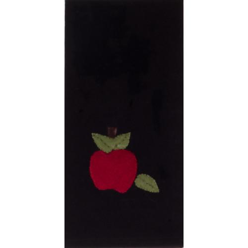 Apple of My Eye Black Towel