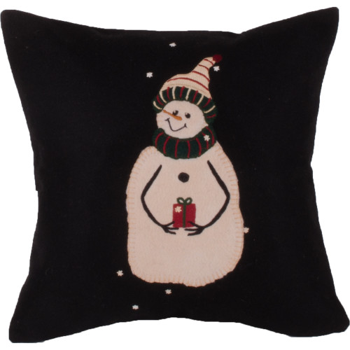 A Gift Black Pillow