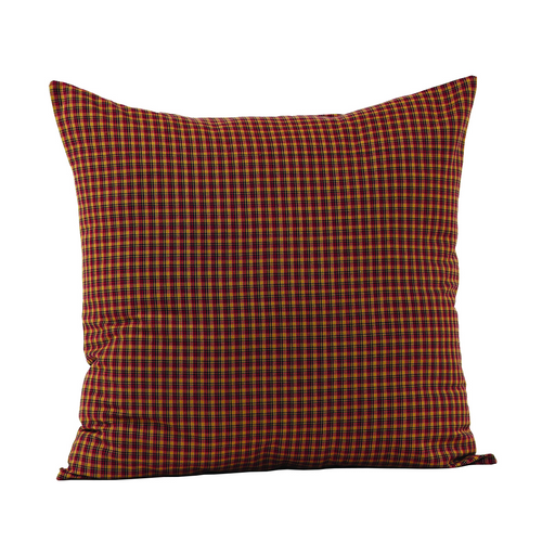 Patriotic Patch Fabric Filled Pillow 16x16