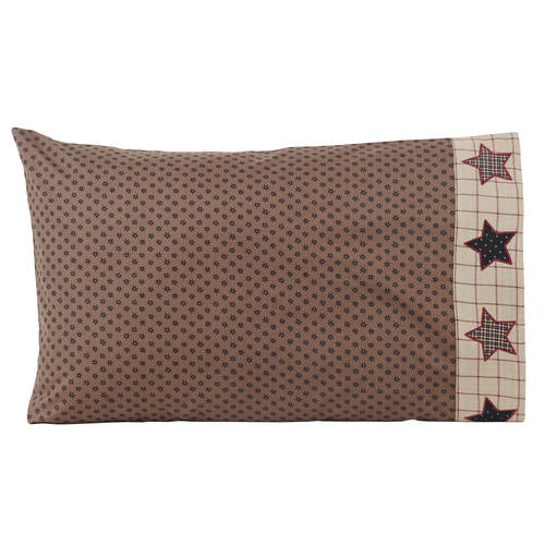 Bingham Star Pillow Case Set of 2 21x30