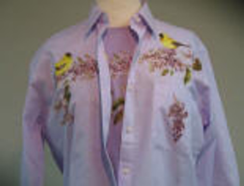 Lilac Goldfinch L/S Shirt