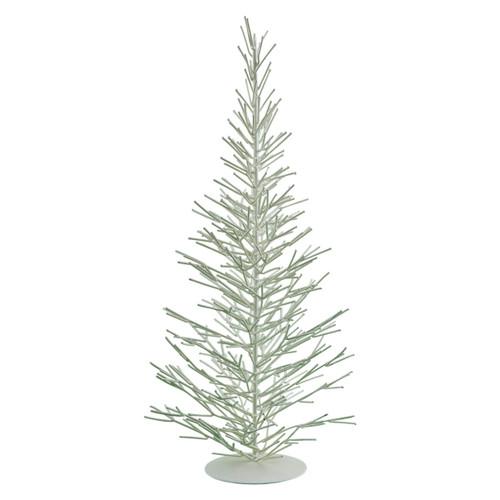 WHITE METAL TREES LARGE