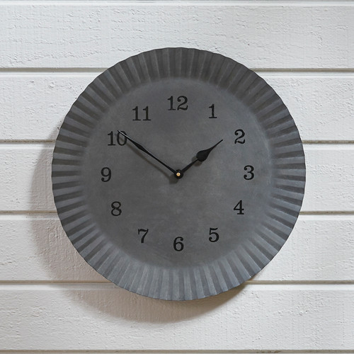 CHARGER WALL CLOCK