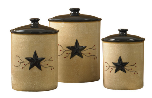 STAR VINE CANISTERS S/3