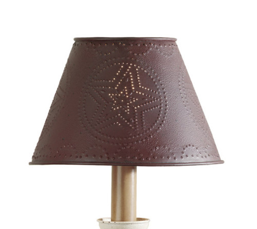 """METAL STAR SHADE 10"""" RED"""