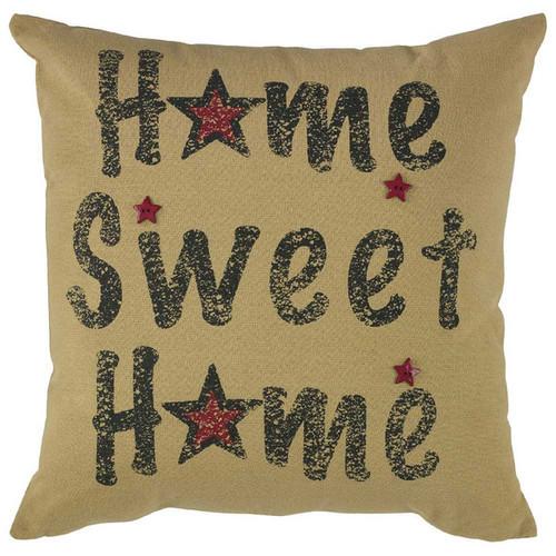 HOME SWEET HME PRNT PLW 20-POL