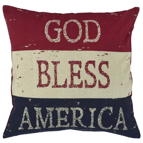GOD BLESS AMERICA PLW 20-POLY
