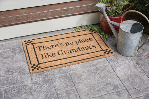 NO PLACE LIKE GRANDMAS DOORMAT