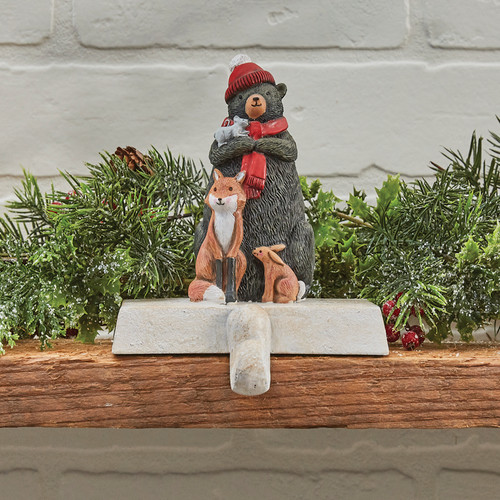 BEAR STOCKING HANGER