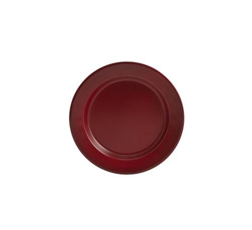 LINVILLE ENAMEL SALAD PLT RED