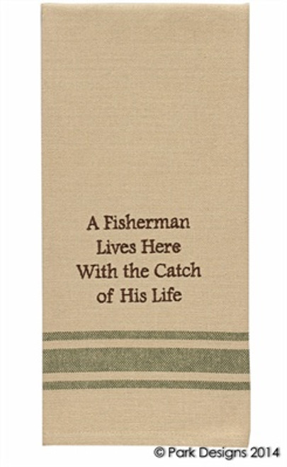 A FISHERMAN LIVES HERE D/T