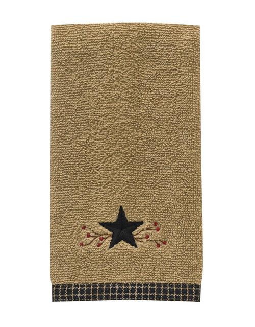 STAR VINE TERRY HAND TOWEL