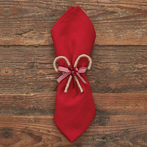 CANDY CANE NAPKIN RING