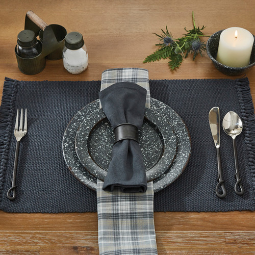 CASUAL CLASSICS PLACEMAT SLATE