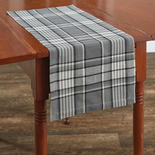 Grey Area TABLE RUNNER 13X36