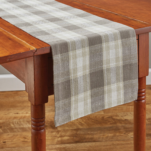 WEATHERED OAK TABLE RUNNER 13X54