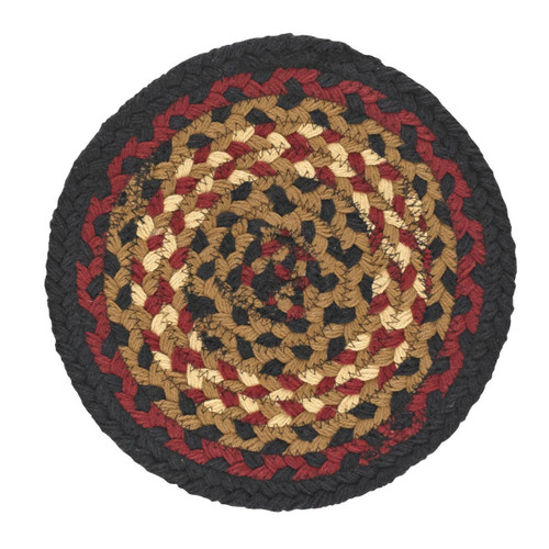FOLK ART BRAID TRIVET 8""