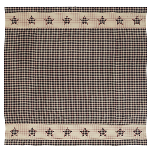 Bingham Star Shower Curtain 72x72