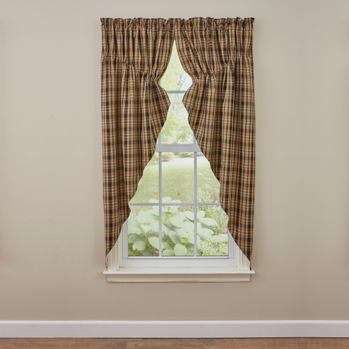 SUNFLOWER IN BLOOM LINED GATHERED SWAGS 72X63