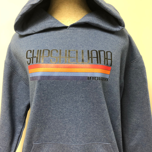 Color Stripe Shipshe Hoodie