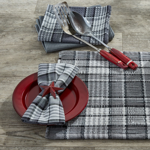 Grey Area Chindi Placemat
