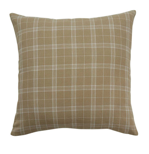 FIELDSTONE PLAID PLW 20 CRM PO