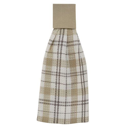 IN THE MEADOW PLAID HAND TOWEL