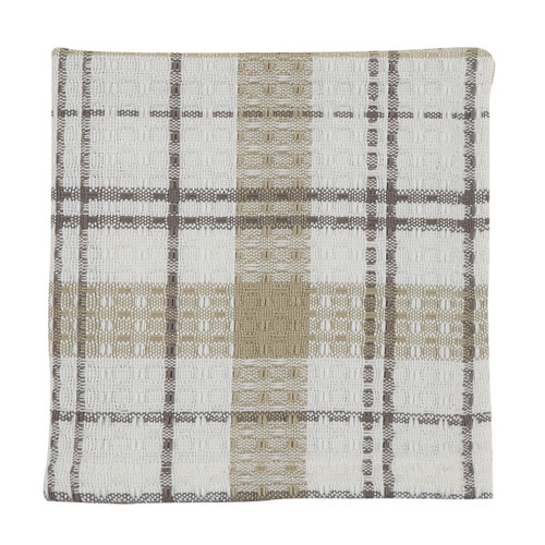 IN THE MEADOW PLAID DISHCLOTH