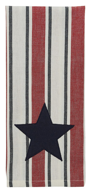 STARS AND STRIPES DECORATIVE DISHTOWEL