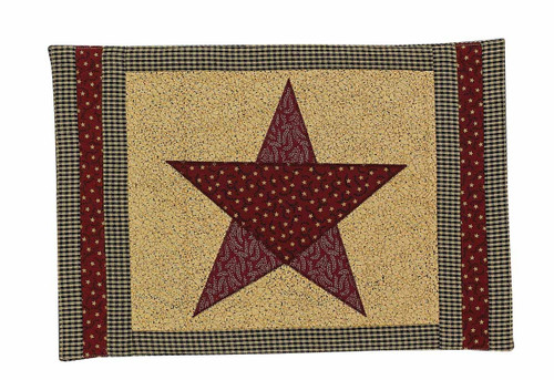 COUNTRY STAR PLACEMAT