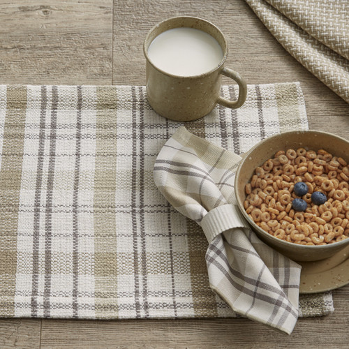 IN THE MEADOW PLAID PLACEMAT
