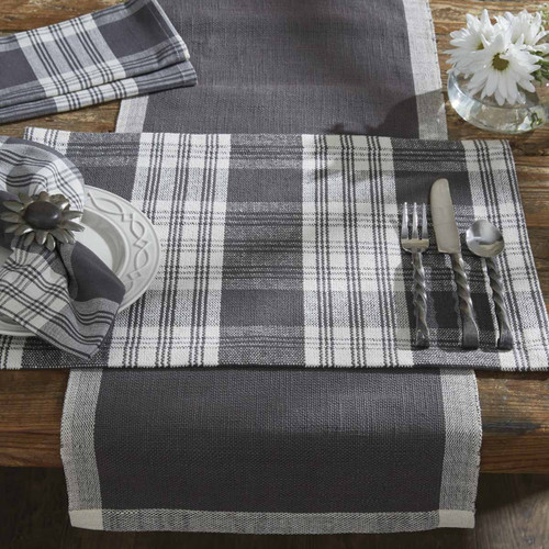 DYLAN PLACEMAT-SLATE