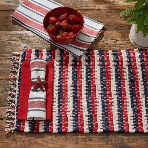 STARS AND STRIPES CHINDI PLACEMAT