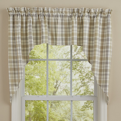 IN THE MEADOW PLAID SWAG 72X36