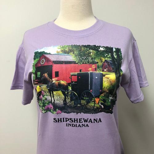 Going Home w Shipshewana Namedrop T-Shirt