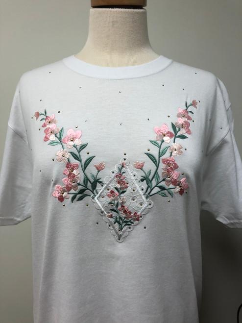Coral Floral T-Shirt