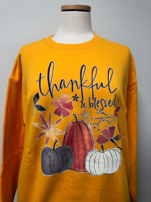 Thankful & Blessed Sweatshirt