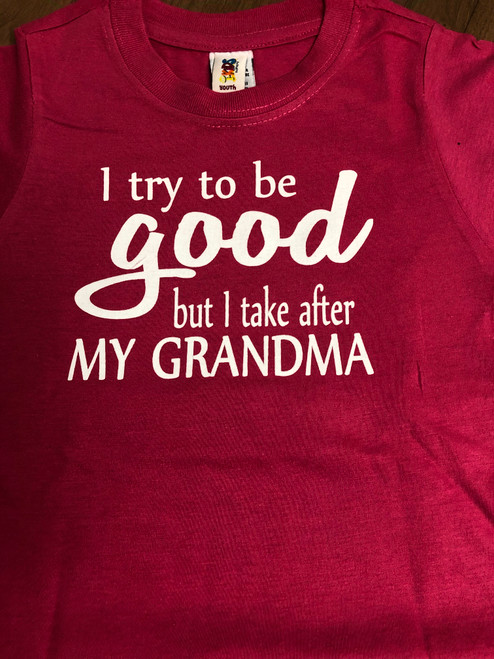 Take after Grandma Youth Tee